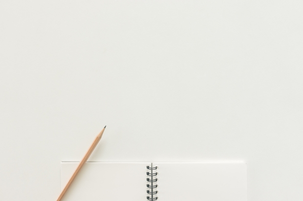 Minimal work space - Creative flat lay photo of workspace desk w